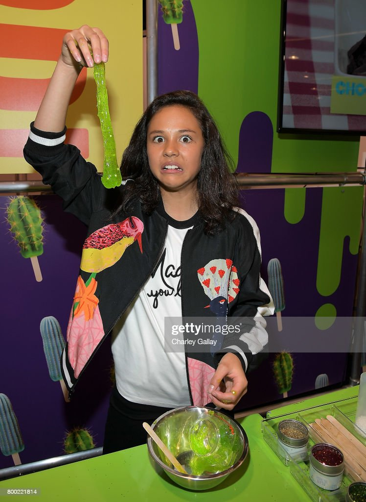Nickelodeon Star Breanna Yde attends the Nickelodeon Booth at VidCon 2017 at the Anaheim Convention Center on June 23, 2017 in Anaheim, California.