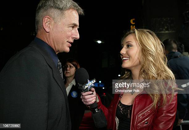 Nickelodeon's talk show host of Noggins Lauren Mayhew interviews Mark Harmon