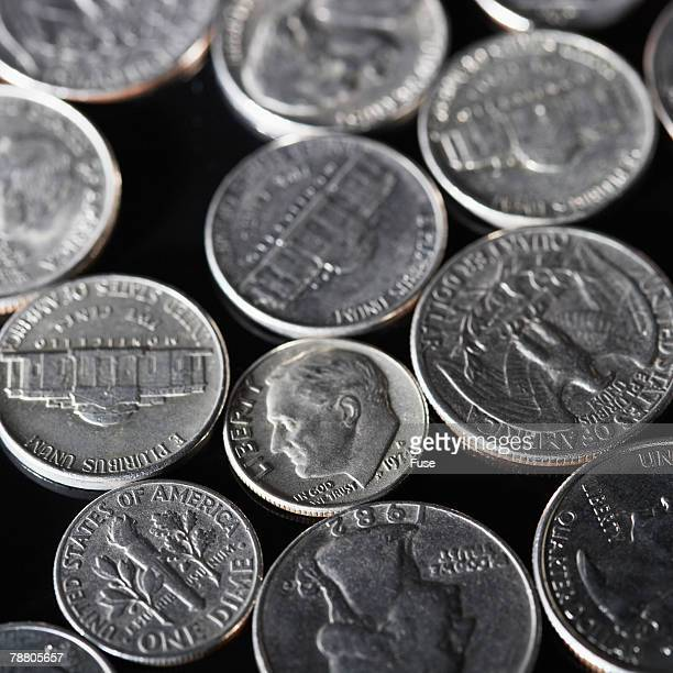 Nickels, Quarters, and Dimes