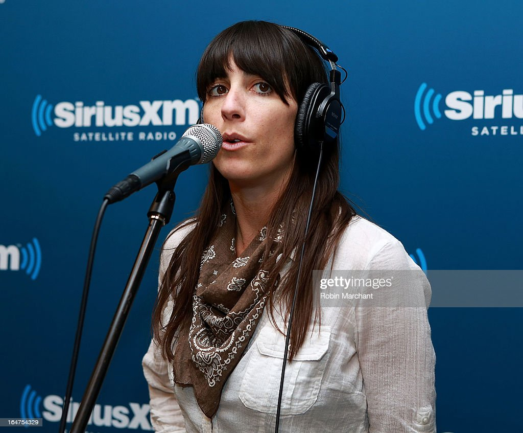 Nicki Bluhm of Nicki Bluhm & the Gramblers performs at SiriusXM Studios on March 27, 2013 in New York City.