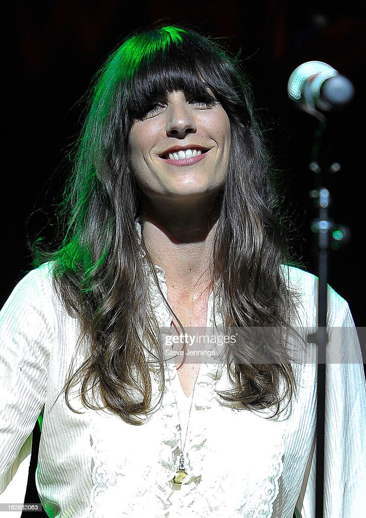 Nicki Bluhm performs on stage as Jameson Best Fest launches Petty Fest at The Fillmore on February 27, 2013 in San Francisco, California.