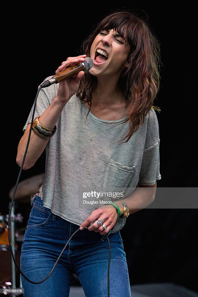 Nicki Bluhm & The Gramblers perform during the 9th Annual Mountain Jam at Hunter Mountain on June 7, 2013 in Hunter, New York.