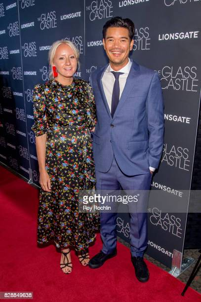 Nicki Chapman and Destin Daniel attends 'The Glass Castle' New York screening at SVA Theatre on August 9 2017 in New York City