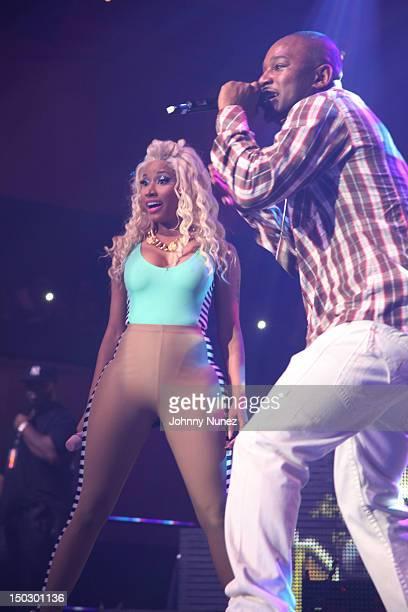 Nicki Minaj and Cam'ron perform at Roseland Ballroom on August 14 2012 in New York City