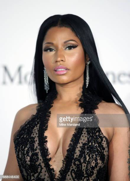 Nicki Minaj arrives at the amfAR Gala Cannes 2017 at Hotel du CapEdenRoc on May 25 2017 in Cap d'Antibes France