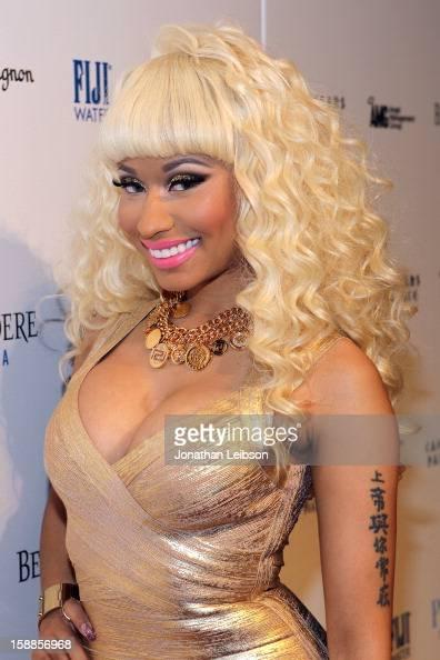 Nicki Minaj arrives to New Year's Eve At PURE Nightclub on December 31 2012 in Las Vegas Nevada
