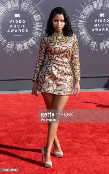 Nicki Minaj arriving at the MTV Video Music Awards 2014 at The Forum in Inglewood Los Angeles