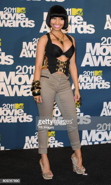 Nicki Minaj at the MTV Movie Awards 2011 at the Gibson Amphitheatre in Universal City Los Angeles