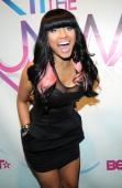 Nicki Minaj attends BET's Rip The Runway 2010 at the Hammerstein Ballroom on February 27 2010 in New York City