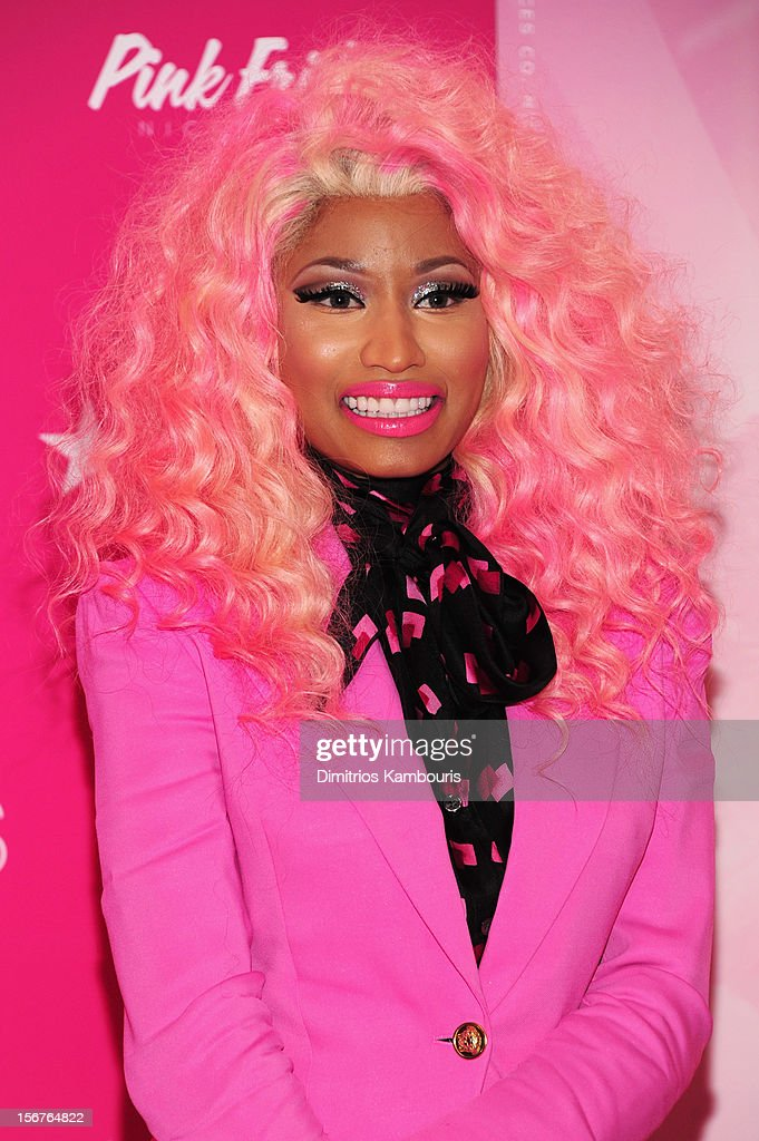 <a gi-track='captionPersonalityLinkClicked' href=/galleries/search?phrase=Nicki+Minaj+-+Performer&family=editorial&specificpeople=6362705 ng-click='$event.stopPropagation()'>Nicki Minaj</a> attends Pink Friday Fragrance Launch at Macy's Queens Center Mall on November 20, 2012 in the Queens borough of New York City.