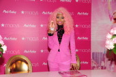 Nicki Minaj attends Pink Friday Fragrance Launch at Macy's Queens Center Mall on November 20 2012 in New York City