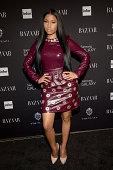 Nicki Minaj attends Samsung GALAXY At Harper's BAZAAR Celebrates Icons By Carine Roitfeld at The Plaza Hotel on September 5 2014 in New York City