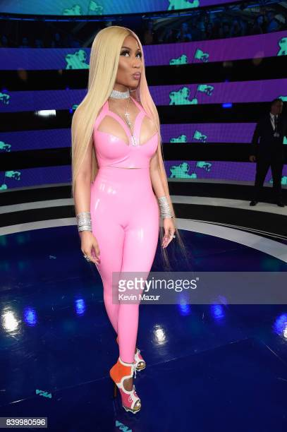 Nicki Minaj attends the 2017 MTV Video Music Awards at The Forum on August 27 2017 in Inglewood California