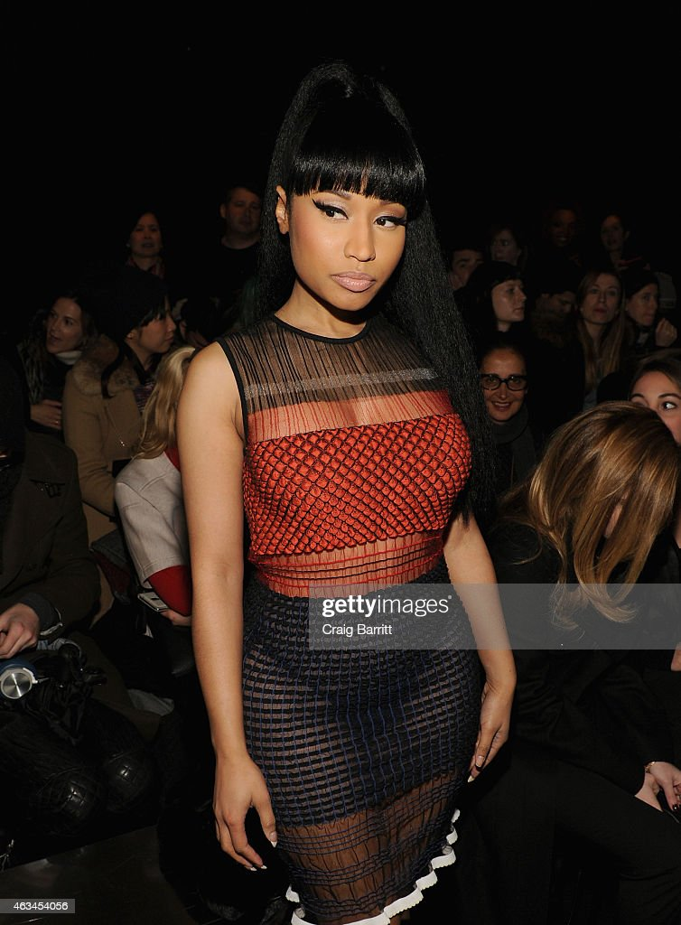 Alexander Wang Front Row Mercedes Benz Fashion Week Fall 2015 Getty Images