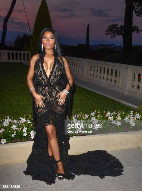 Nicki Minaj attends the amfAR Gala Cannes 2017 at Hotel du CapEdenRoc on May 25 2017 in Cap d'Antibes France