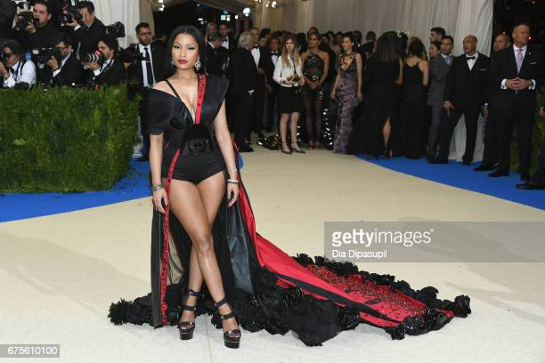 Nicki Minaj attends the 'Rei Kawakubo/Comme des Garcons Art Of The InBetween' Costume Institute Gala at Metropolitan Museum of Art on May 1 2017 in...