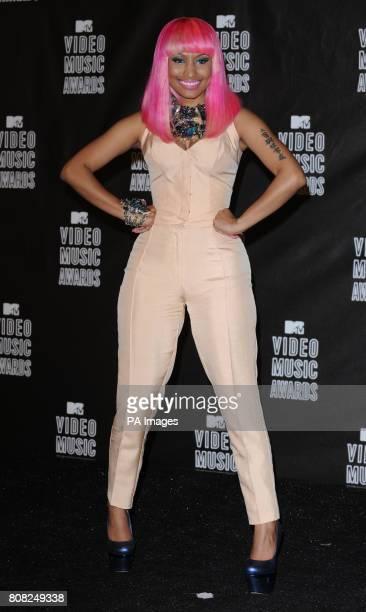 Nicki Minaj backstage at the MTV Video Music Awards 2010 Nokia Theatre Los Angeles USA