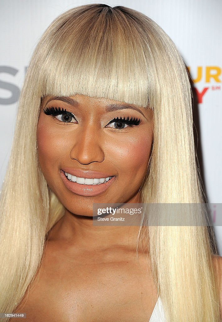 <a gi-track='captionPersonalityLinkClicked' href=/galleries/search?phrase=Nicki+Minaj+-+Artieste&family=editorial&specificpeople=6362705 ng-click='$event.stopPropagation()'>Nicki Minaj</a> KMart 'Shop Your Way' Launch Party at Fig & Olive Melrose Place on March 1, 2013 in West Hollywood, California.
