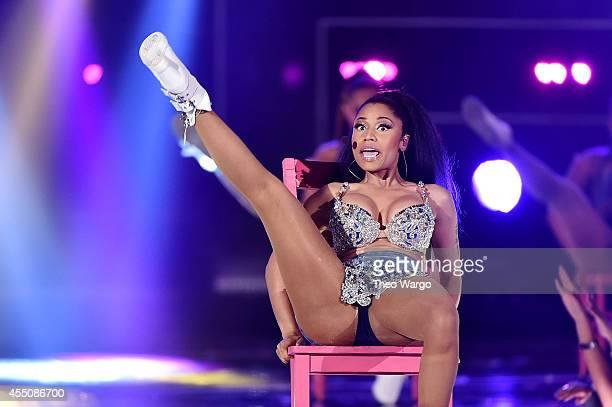 Nicki Minaj performs at Fashion Rocks 2014 at the Barclays center on September 9 2014 in New York United States