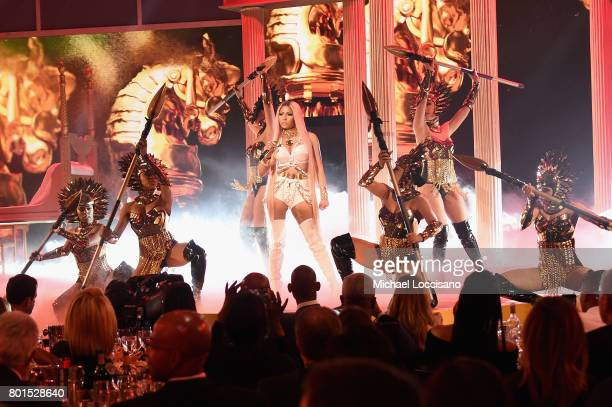 Nicki Minaj performs on stage during the 2017 NBA Awards Live On TNT on June 26 2017 in New York City 27111_001