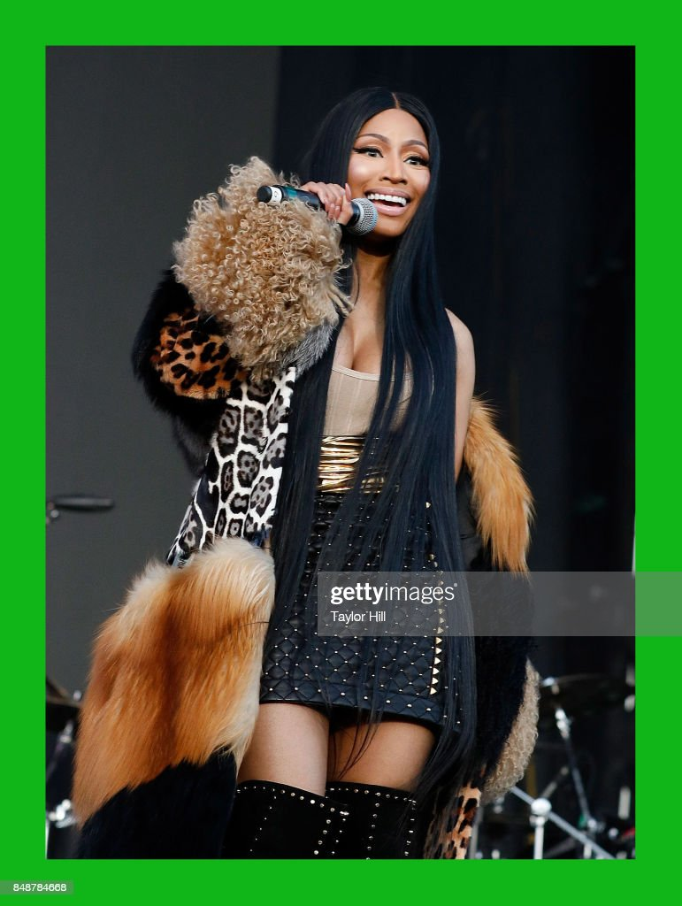 Nicki Minaj performs onstage during Day 2 at The Meadows Music & Arts Festival at Citi Field on September 16, 2017 in New York City.