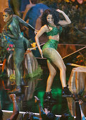 Nicki Minaj performs onstage during the 2014 MTV Video Music Awards held at The Forum on August 24 2014 in Inglewood California