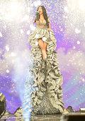 Nicki Minaj speaks onstage at the MTV EMA's 2014 at The Hydro on November 9 2014 in Glasgow Scotland