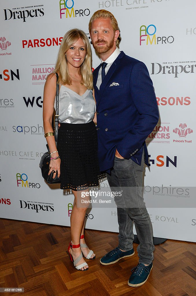 Nicki Shields & Alistair Guy attends the VIP charity event, which Drapers and WGSN Group, partnered with Parsons The New School for Design and the British Fashion Council to hold, in aid of the Prince's Trust Million Makers on August 4, 2014 in London, England. The event saw the launch the acclaimed book 'The School of Fashion: 30 Parsons Designers' by Simon Collins, Dean of Fashion at Parsons. The richly-illustrated volume explores the legacy of Parsons through the testimony of its brightest alumni, with interviews and sketches from Donna Karan, Alexander Wang, Jack McCullough and Lazaro Hernandez of Proenza Schouler, and many others.