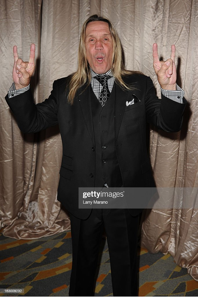 <a gi-track='captionPersonalityLinkClicked' href=/galleries/search?phrase=Nicko+McBrain&family=editorial&specificpeople=2035333 ng-click='$event.stopPropagation()'>Nicko McBrain</a> attends Classic Rock And Roll Party to benefit HomeSafe at Seminole Hard Rock Hotel on March 2, 2013 in Hollywood, Florida.