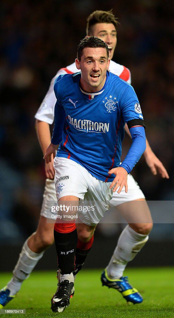 Rangers v Airdrieonians - The William Hill Scottish Cup: Third Round