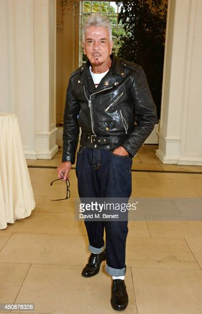 Nicky Haslam attends the drinks reception hosted by Dockers the San Francisco based apparel brand at Kensington Palace on the eve of 'Dockers...