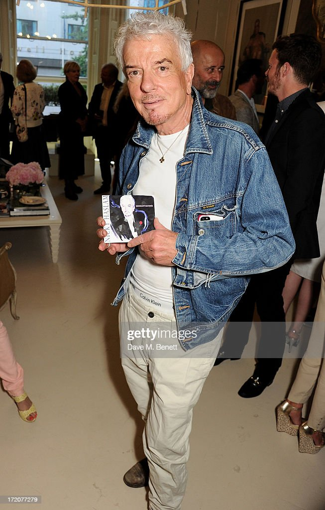 Nicky Haslam attends the launch of his new album 'Midnight Matinee' on July 1, 2013 in London, England.