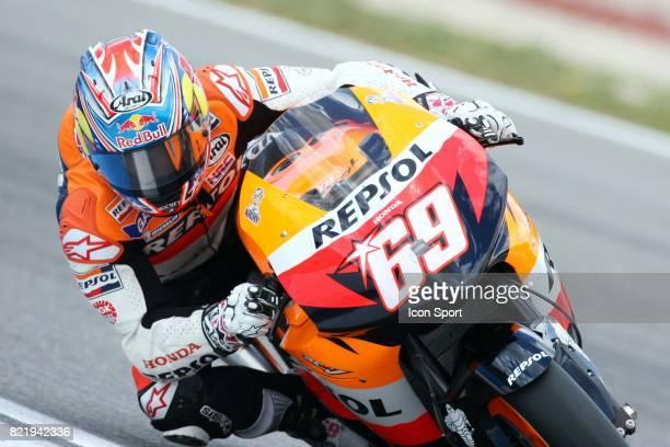 Nicky HAYDEN Grand Prix Moto d'Estoril Essais