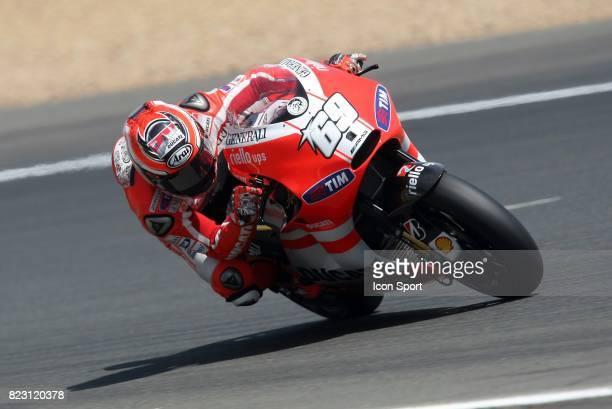 Nicky Hayden Ducati Moto GP Grand Prix de France 2011 Le Mans