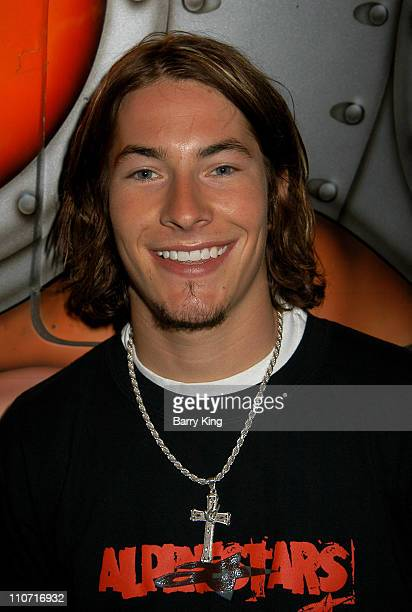 Nicky Hayden during Behind The Scenes Oakley Eyewear Shoot with Nicky Hayden at Oakley Interplanetary Headquarters in Foothill Ranch CA United States