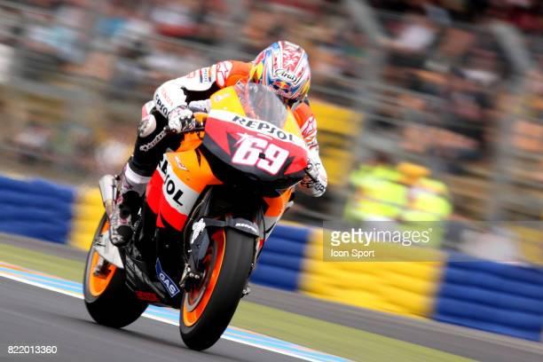 Nicky HAYDEN Honda 160508 Grand Prix de France Moto Essais Le Mans