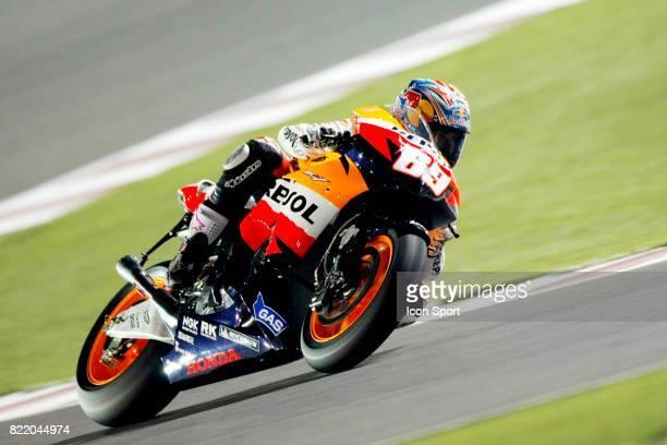 Nicky HAYDEN Honda Essais MotoGP Grand Prix du Qatar 2008 Losail