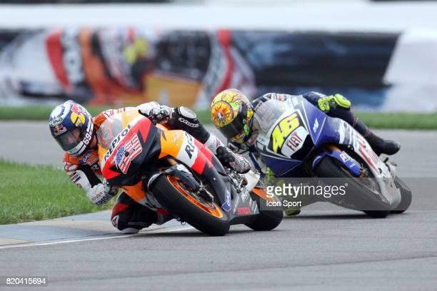 Nicky HAYDEN / Valentino ROSSI MotoGP Grand Prix des Etats Unis Indianapolis