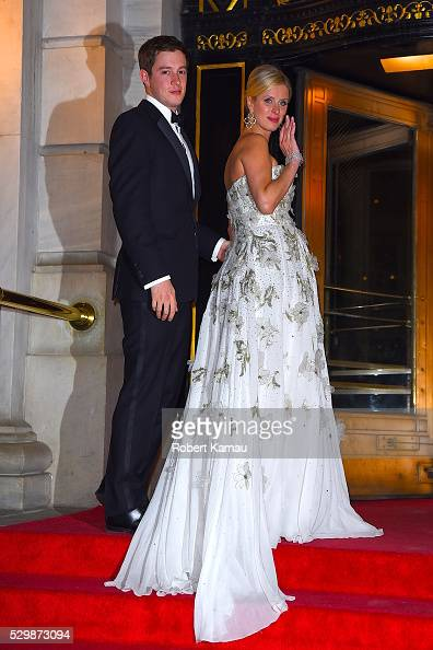 Nicky Hilton and boyfriend James Rothschild attends a FIT Annual Gala on May 9 2016 in New York City
