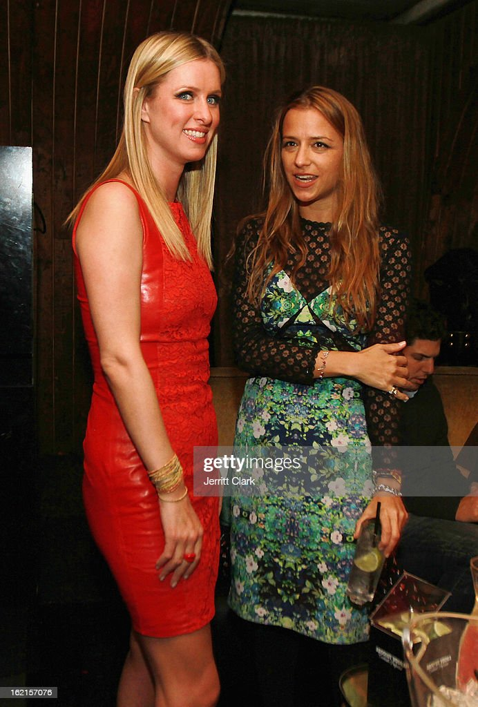Nicky Hilton and Charlotte Ronson attend the Charlotte Ronson After Party during Fall 2013 Fashion Week at 1 Oak on February 8, 2013 in New York City.