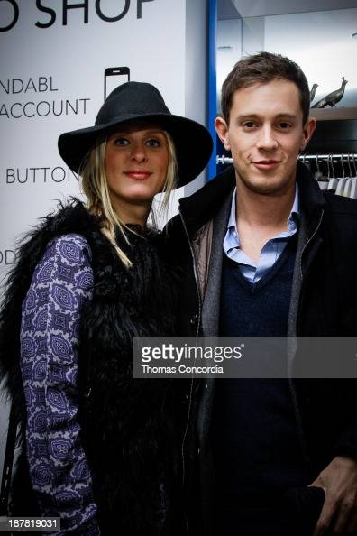 Nicky Hilton and James Rothschild attend the Trendabl PopUp Shop at The Paramount Hotel Bar on November 12 2013 in New York City