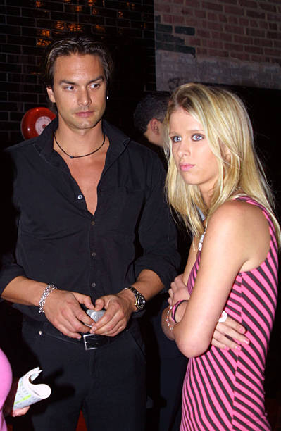 Nicky hilton and swedish model marcus schenkenberg at the new york nicky hilton and swedish model marcus schenkenberg at the new york premiere of o thecheapjerseys Images