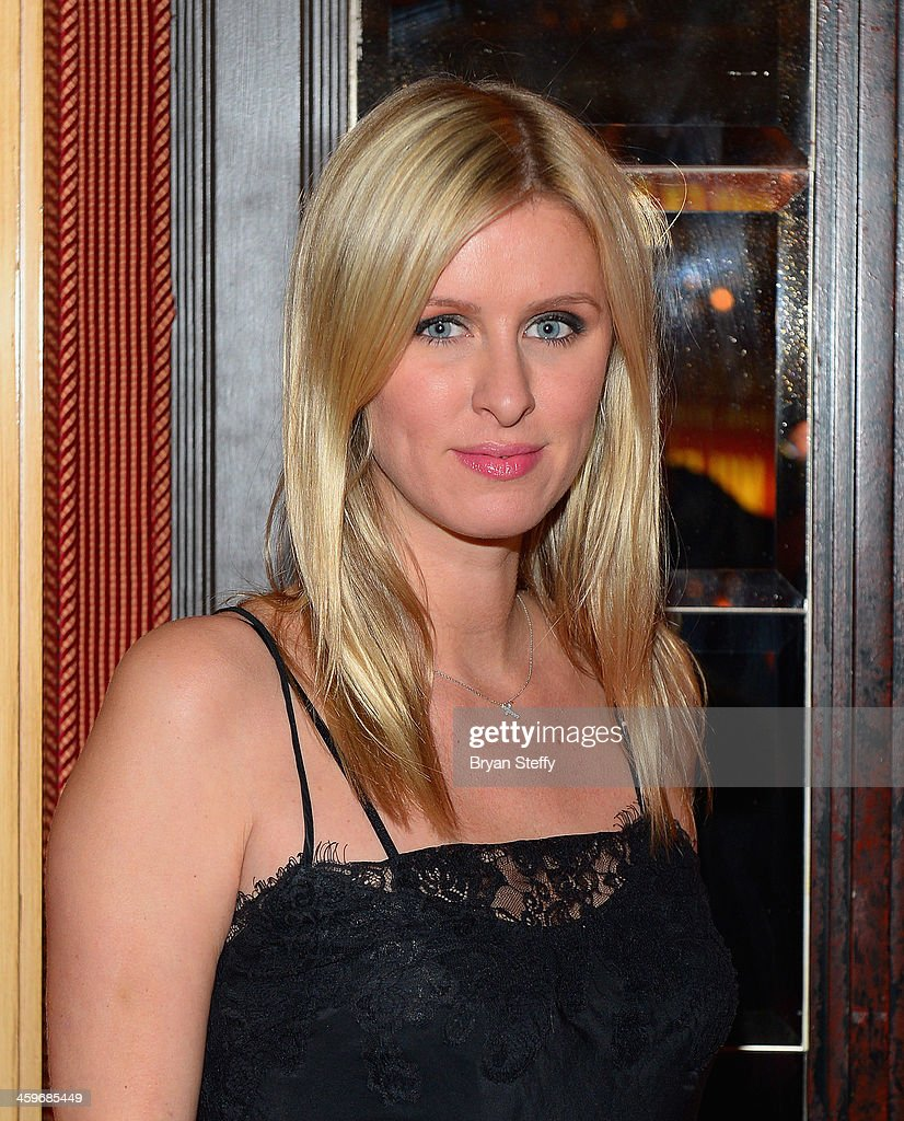 Nicky Hilton arrives at Beacher's Madhouse Las Vegas at the MGM Grand Hotel/Casino on December 28, 2013 in Las Vegas, Nevada.