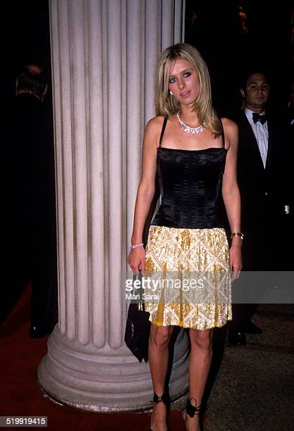 Nicky Hilton at the Metropolitan Museum's Costume Institute gala exhibition New York New York April 23 2001