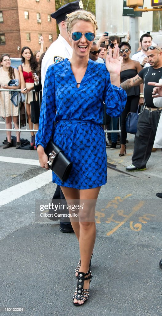 Nicky Hilton attends 2014 Mercedes-Benz Fashion Week during day 4 on September 8, 2013 in New York City.
