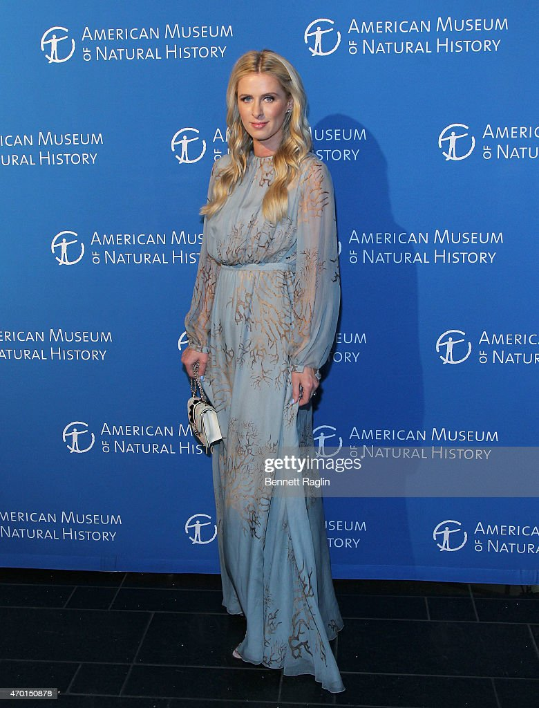 Nicky Hilton attends 2015 American Museum Of Natural History Museum Dance at American Museum of Natural History on April 17 2015 in New York City