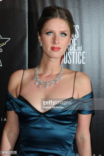 Nicky Hilton attends 3rd Annual PreOscar Hollywood DOMINO Gala Benefiting Artists for Peace and Justice at BAR 210 on March 4 2010 in Beverly Hills...
