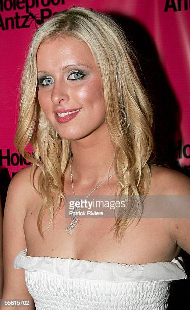 Nicky Hilton attends a private party given for her at the Hotel Hilton on September 28 2005 in Sydney Australia