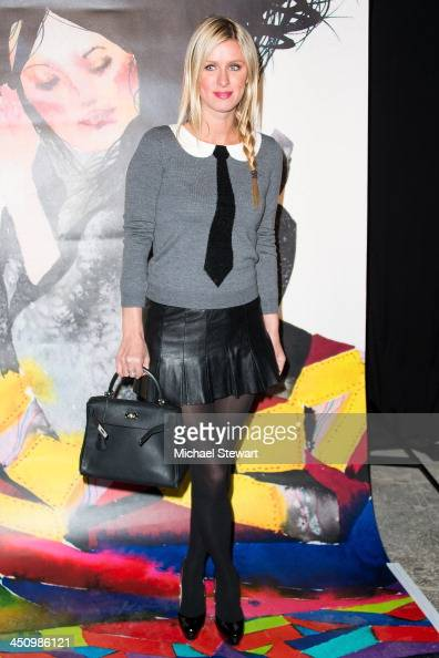 Nicky Hilton attends alice olivia By Stacey Bendet David Choe Present A Night Of Fashion And Art at 450 West 14th Street on November 20 2013 in New...
