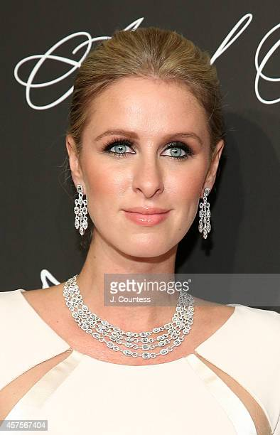 Nicky Hilton attends Angel Ball 2014 at Cipriani Wall Street on October 20 2014 in New York City